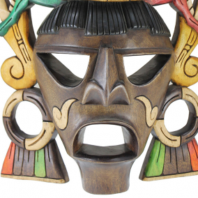 Mayan Classic Carved Mask